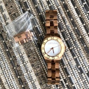 Marc by Marc Jacobs Blade Rose Gold Watch